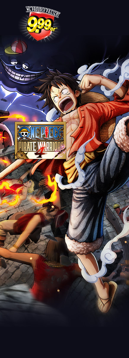 One Piece Pirate Warriors 4 für nur 9,99 EUR sichern