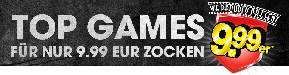 Top Games für 9.99 EUR